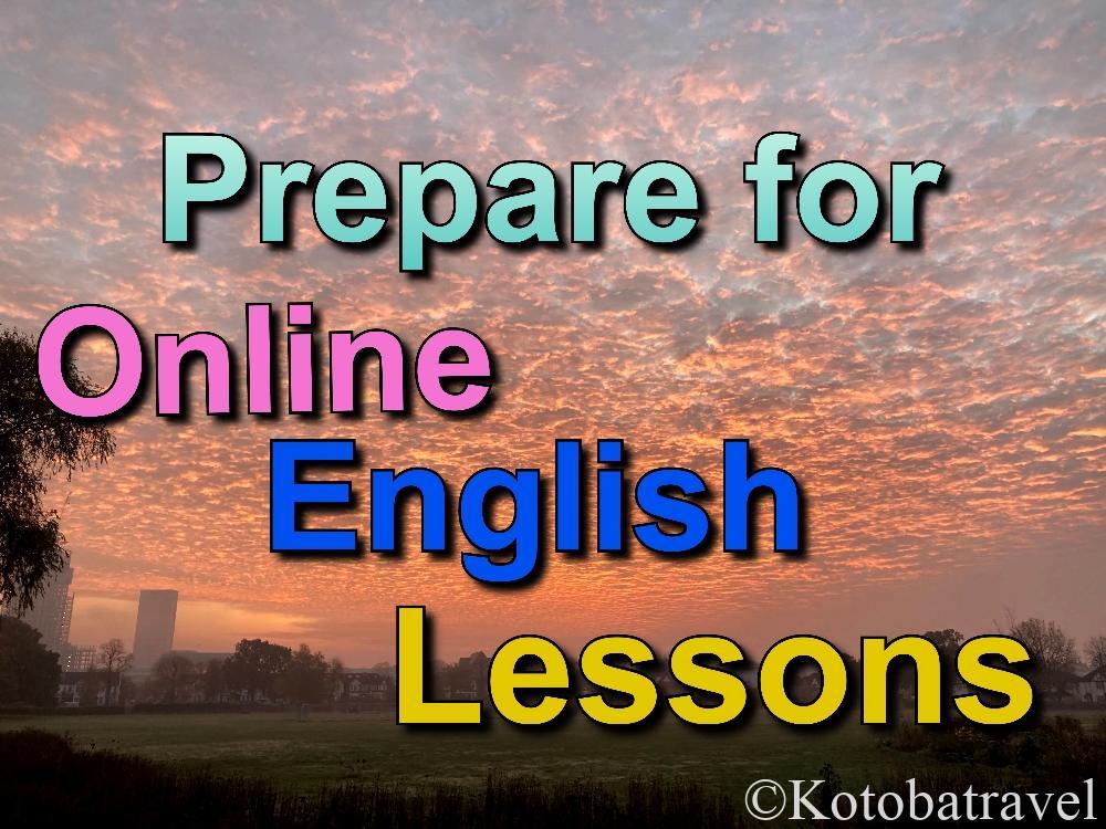 Online English Lesson / オンライン英会話 - category -